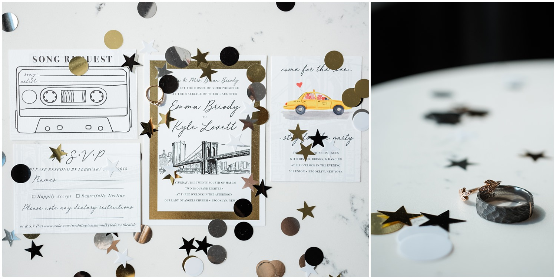 501 Union wedding , 501 union wedding photos , 501 union wedding photographer , 501 union wedding venue , Wilde Scout Photos , wedding details , wedding invite