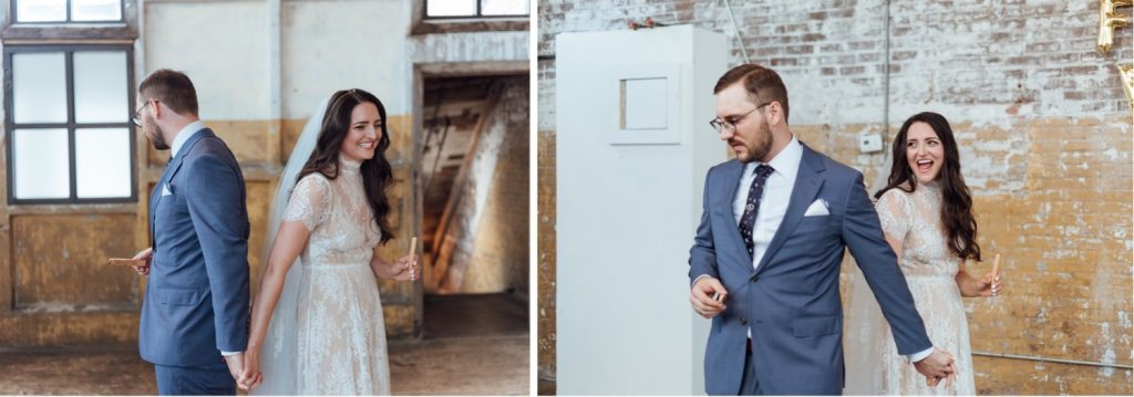The Greenpoint Loft, The Greenpoint Loft Wedding, The Greenpoint Loft Wedding Photos, Greenpoint Loft Wedding, Brooklyn Wedding Photographer, Best New York Wedding Photographer, Brooklyn Loft Wedding, Brooklyn Wedding Coven, Shareen Bridal, Brooklyn Groom, First Look,