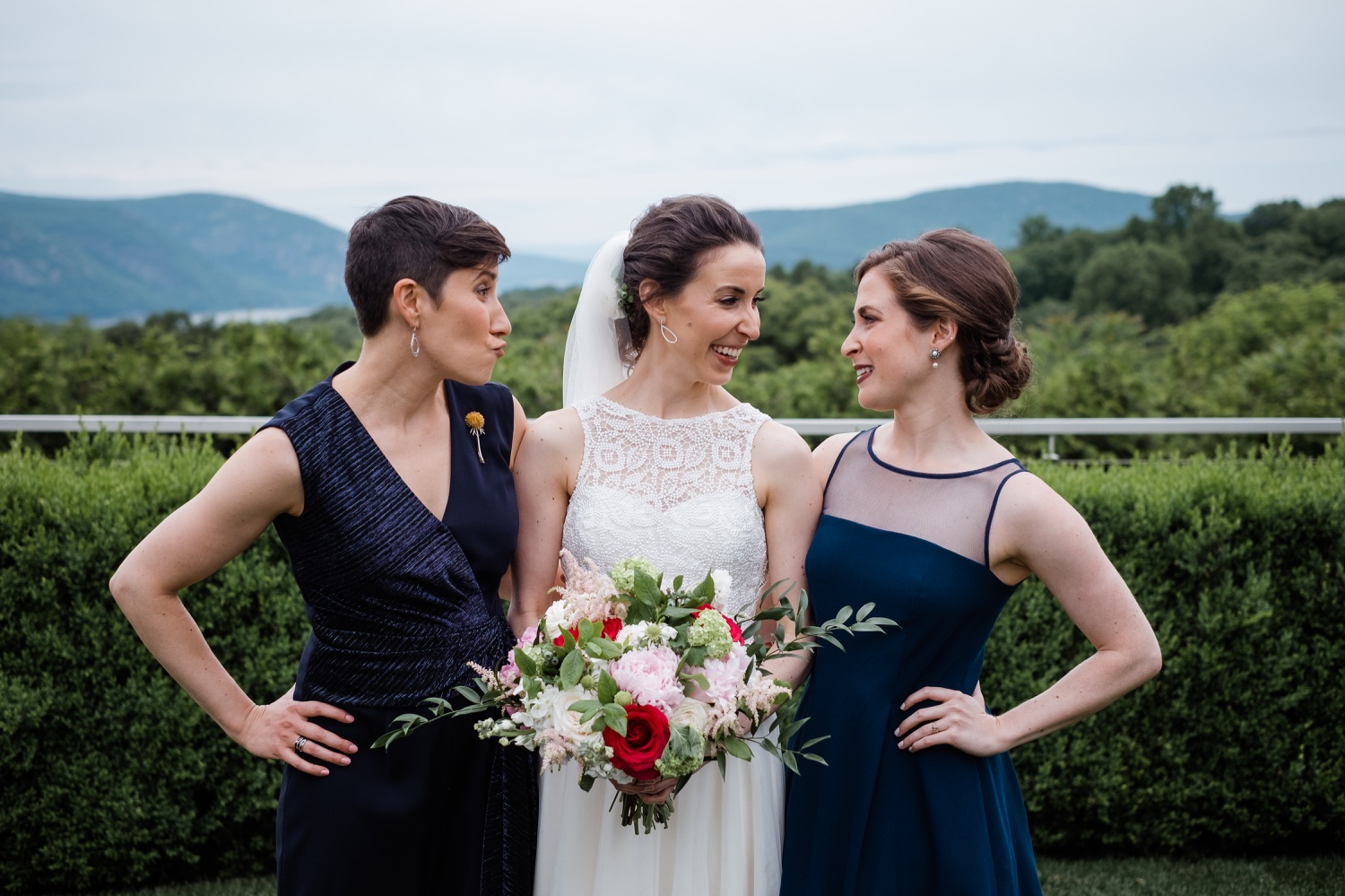 The Garrison, The Garrison Wedding, The Garrison Wedding Photos, Hudson Valley Wedding Photographer, Catskills Wedding Photographer, Best Hudson Valley Wedding Photographer, Lana Zakharina Wedding Dress, Bridal Party,